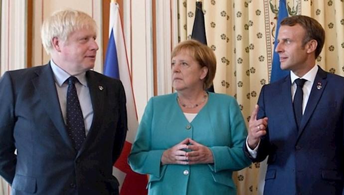 رهبران سه کشور اروپایی