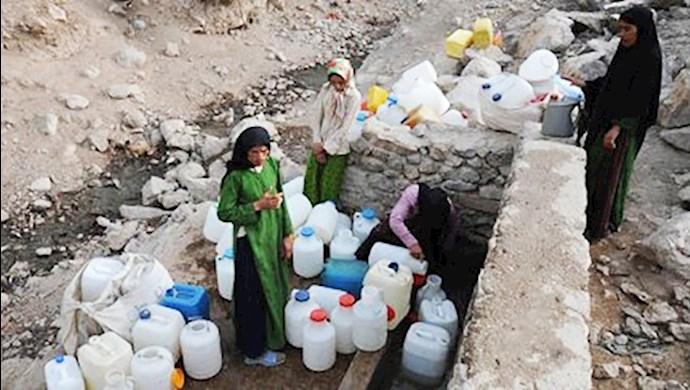بحران دردناک آب در ایران تحت حاکمیت آخوندها
