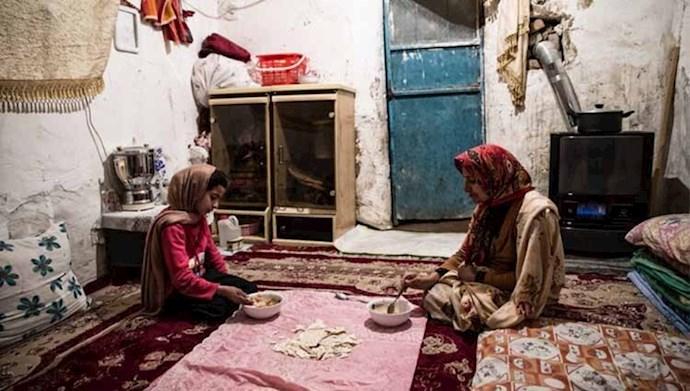 فقر و فلاکت مردم ایران