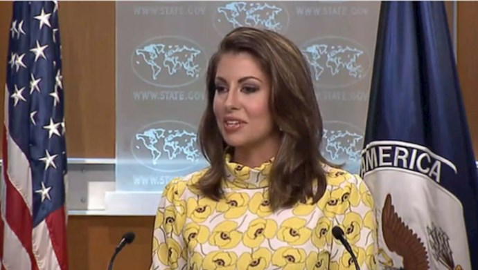 مورگان اورتگاس سخنگوی وزارت خارجه آمریکا