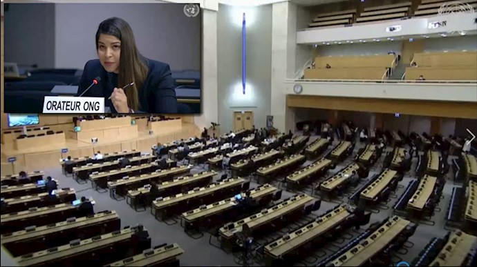 ندا امانی نماینده انجمن بینالمللی حقوقبشر زنان