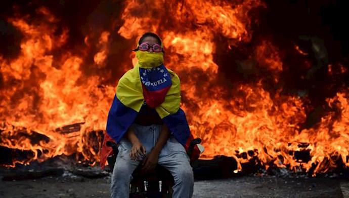 اعتراضات در ونزوئلا دوباره شعله کشید-آرشیو