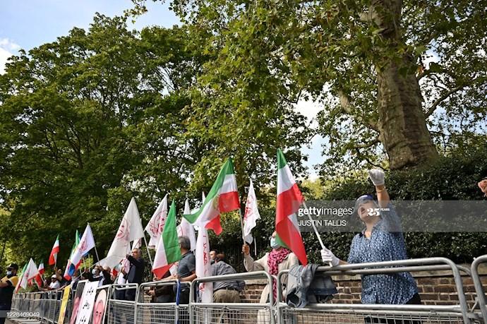 گتی ایمیجز: تظاهرات در لندن علیه اعدام نوید افکاری - 7