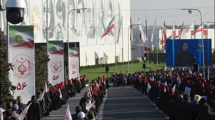 مراسم آغاز پنجاه و ششمین سال تأسیس سازمان مجاهدین خلق ایران - 0