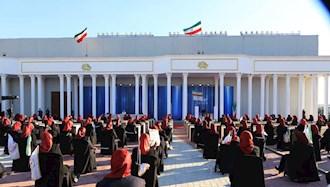 گزارش تصویری از مراسم  پنجاه و ششمین سال تاسیس سازمان مجاهدین خلق ایران