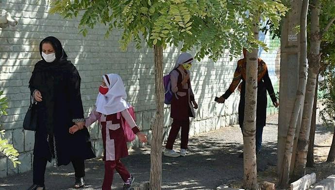 هشدار دانشگاه علوم پزشکی کرمانشاه: کودکان را به مدرسه نفرستید