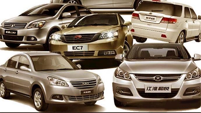 چین از ورود به بازار خودرو در ایران خودداری میکند