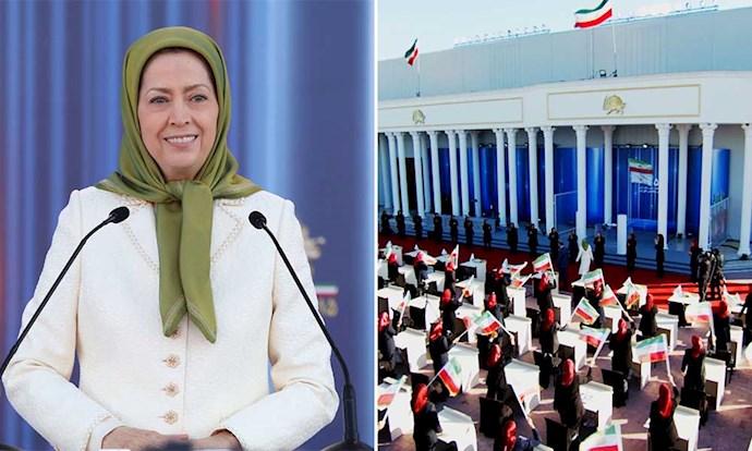 مریم رجوی سخنرانی در مراسم آغاز پنجاه و ششمین سال تأسیس سازمان مجاهدین خلق ایران