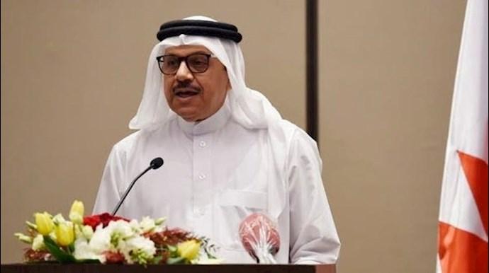 عبداللطیف بن راشد الزیانی وزیر خارجه بحرین