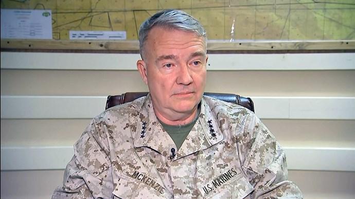 فرانک مک کنزی . ، فرمانده نیروهای مرکزی آمریکا (سنتکام)