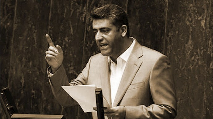 مهدی فرشادان نماینده رژیم از سنندج رژیم  درمجلس ارتجاع