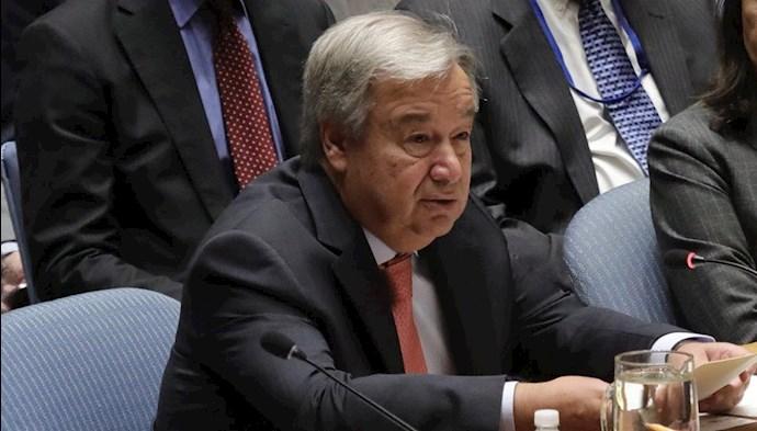 آنتونیو گوترز دبیرکل ملل متحد