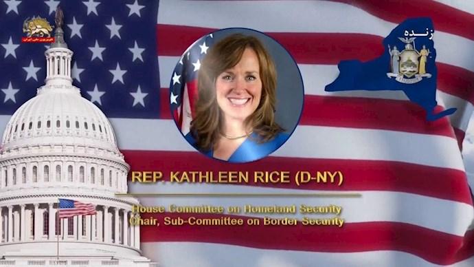 کتلین رایس رئیس زیرکمیته امنیت مرزی کنگره آمریکا - 0