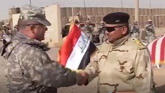 تحویل حفاظت قرارگاه اشرف به نیروهای عراقی
