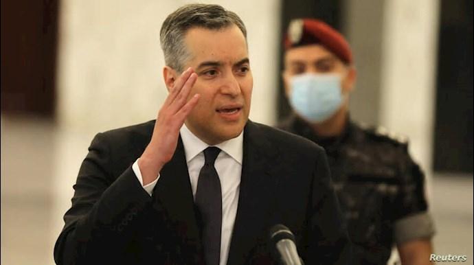مصطفی ادیب نخست وزیر لبنان