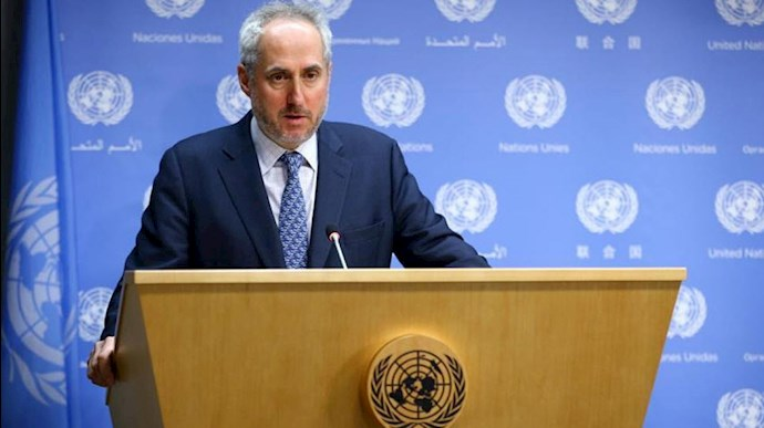 استفان دوجاریچ Stéphane Dujarric ، سخنگوی دبیر کل سازمان ملل متحد