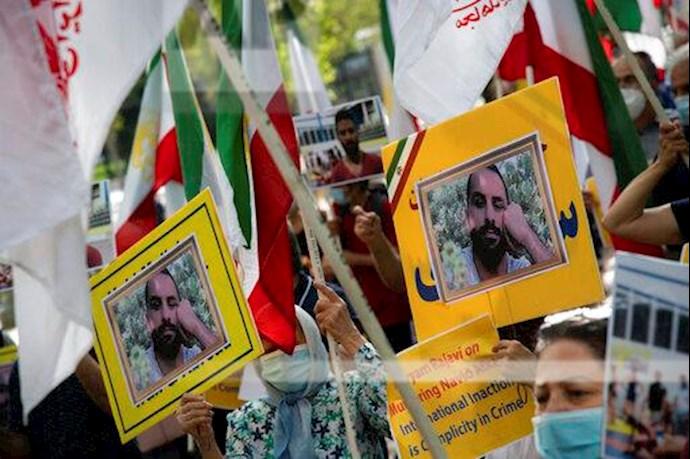 آسوشیتدپرس: تظاهرات در آمریکا علیه حکم اعدام نوید افکاری - 2