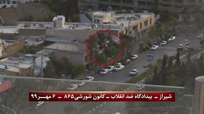 بازتاب تهاجم به قضاییه جلادان در شیراز و انفجار در بیدادگاه صادرکننده حکم اعدام نوید افکاری - 1