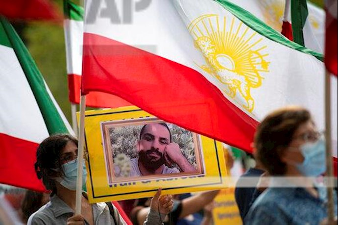 آسوشیتدپرس: تظاهرات در آمریکا علیه حکم اعدام نوید افکاری - 5