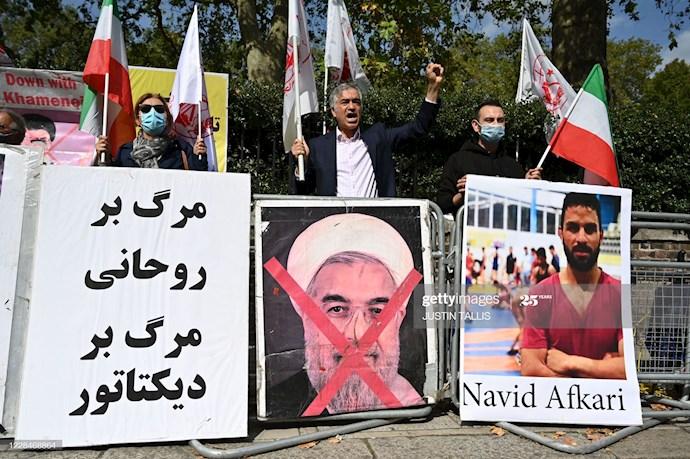 گتی ایمیجز: تظاهرات در لندن علیه اعدام نوید افکاری - 3