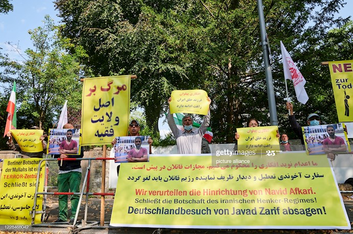گتی ایمیجز: تظاهرات دربرلین علیه اعدام نوید افکاری - 3