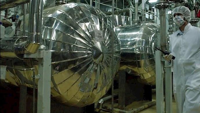 ذخیرهسازی اورانیوم غنیشده توسط رژیم ایران