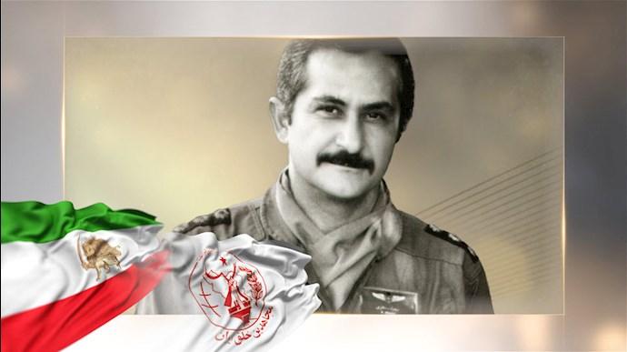 قهرمان ملی خلبان مجاهد بهزاد معزی