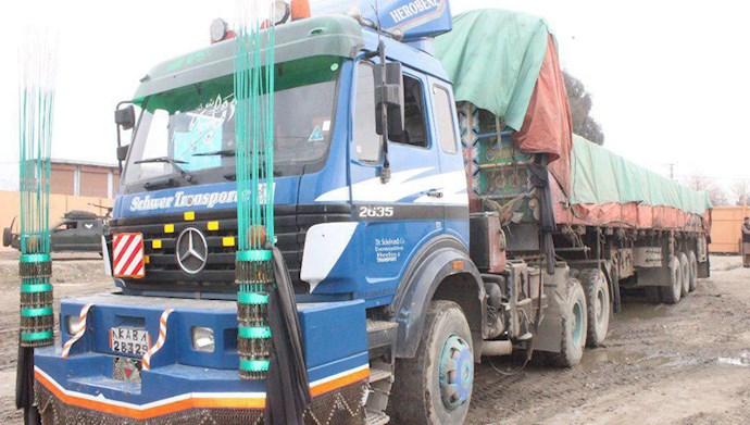 توقیف تریلر مواد منفجره از سوی رژیم به مقصد افغانستان