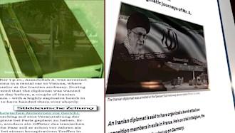 زود دویچه سایتونگ - سفرهای مرموز اسدالله اسدی دیپلمات تروریست رژیم ایران