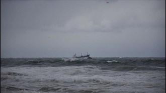 غرق شدن کشتی باری روسیه