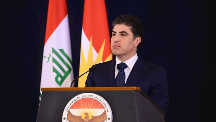 نیچروان بارزانی رئیس اقلیم کردستان