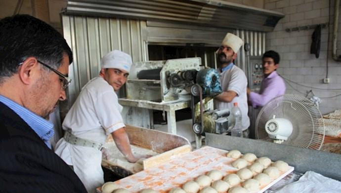 افزایش قیمت نان و تخم مرغ