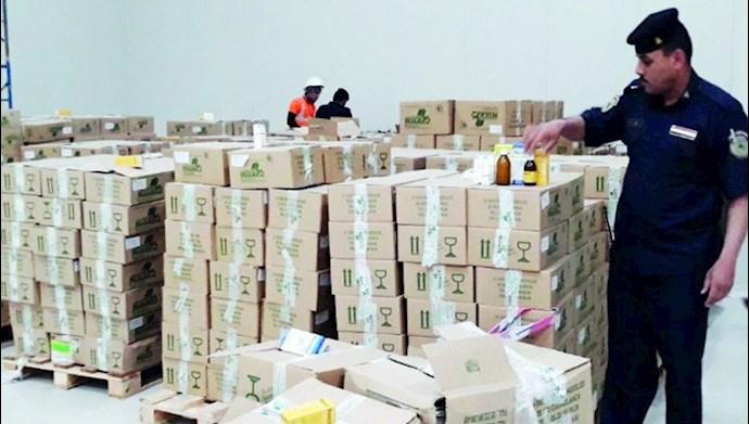 داروی قاچاق ایران به  عراق - عکس از آرشیو