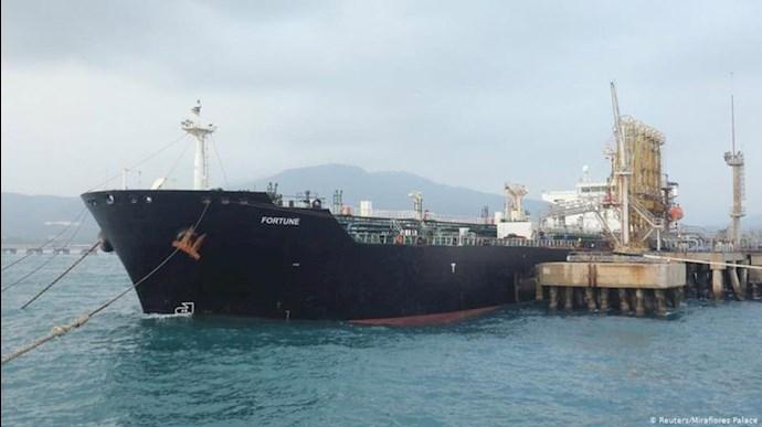 ورود تانکر نفت رژیم به ونزوئلا - عکس از آرشیو