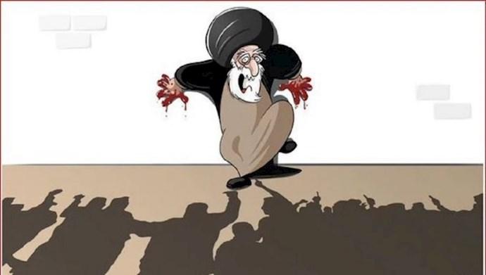 خامنهای وحشت از قیام
