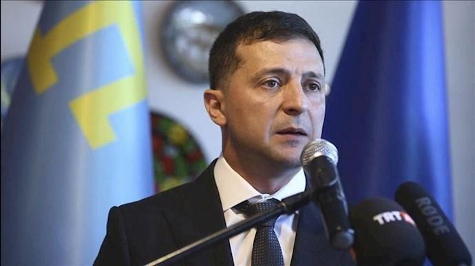 ولودیمیر زلنسکی، رئیسجمهور اوکراین