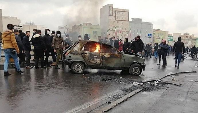قیام آبان - عکس از آرشیو