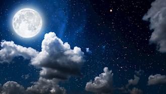 ماه درخشان