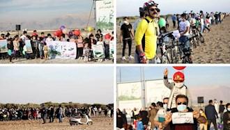 تجمع اعتراضی مردم به نابودی جنگل حرا