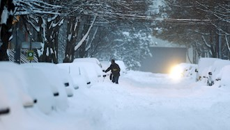 برف و بوران در ایران