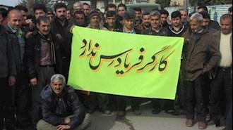 کارگران کارد به استخوان رسیده در ایران