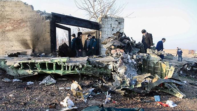 فاجعه قتل مسافران هواپیمای اوکراینی