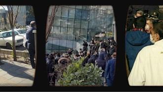 تجمع مالباختگان بورس با شعار مرگ بر روحانی در تهران