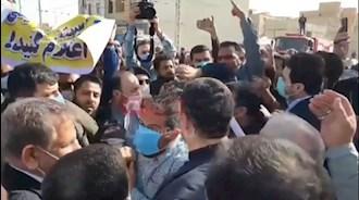 اعتراض مردم بندر موسوم به خمینی به جهانگیری