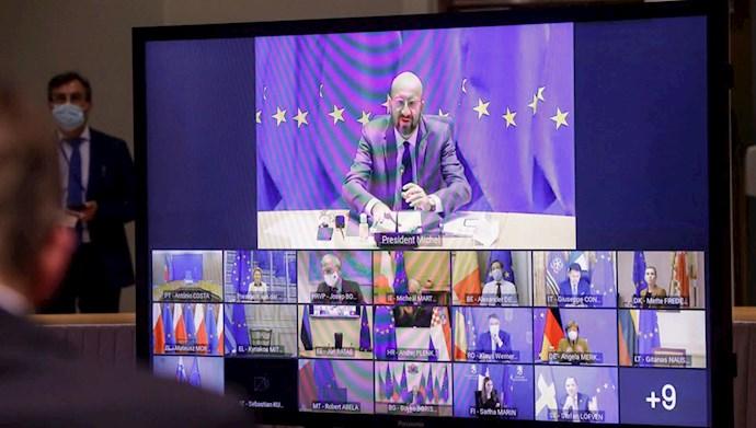 نشست مجازی سران بیست و هفت کشور عضو اتحادیه اروپا
