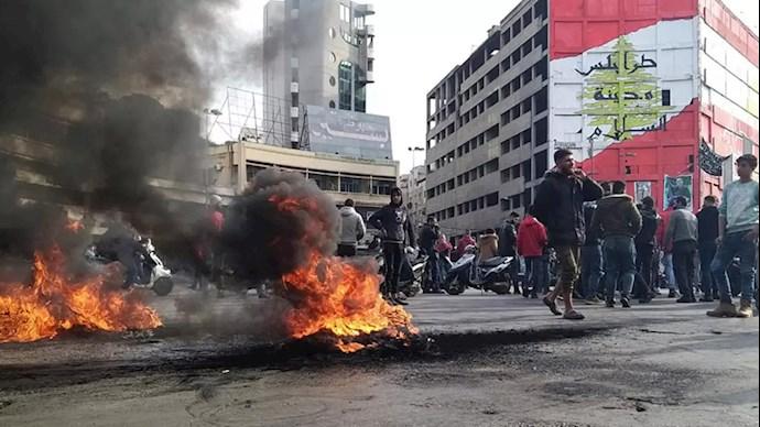 تظاهرات مردم طرابلس