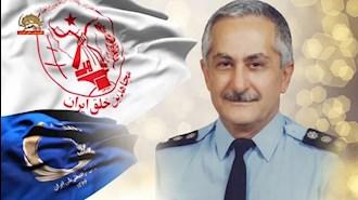 خلبان قهرمان مجاهد سرهنگ بهزادمعزی