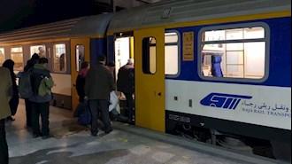 گران شدن بلیت قطار