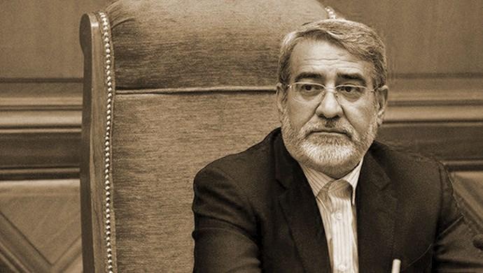 رحمانیفضلی، وزیر کشور آخوند روحانی