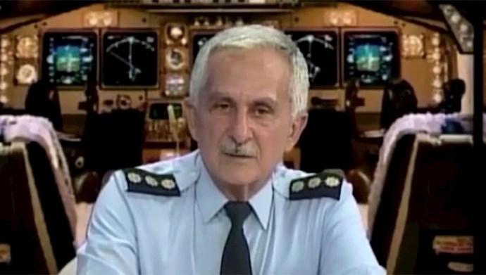 خلبان قهرمان مجاهد سرهنگ بهزاد معزی